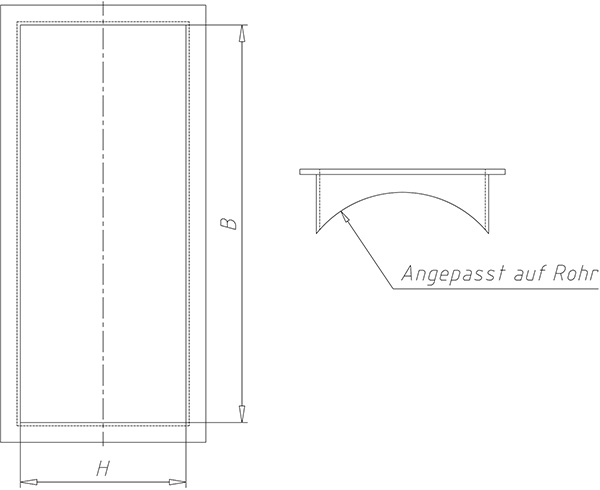 Technical drawings of our stacking frame.